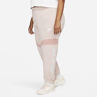Nike Air Calças de jogging para mulher (tamanhos Plus)