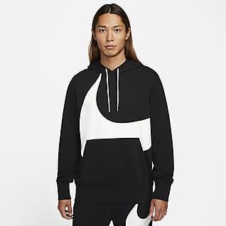 Nike Sportswear Swoosh Sweat à capuche semi-brossé pour Homme