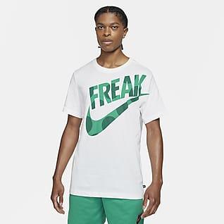 "Nike Dri-FIT Giannis ""Freak"" Men's Printed Basketball T-Shirt"