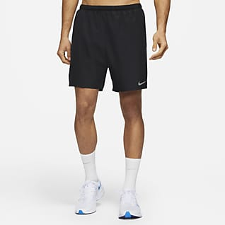 Nike Challenger 2-i-1-løbeshorts til mænd