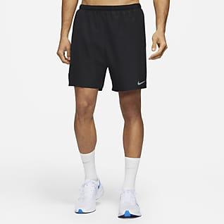 Nike Challenger 2'si 1 Arada Erkek Koşu Şortu