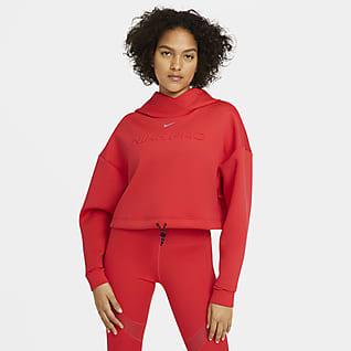 Nike Pro Damska bluza z kapturem