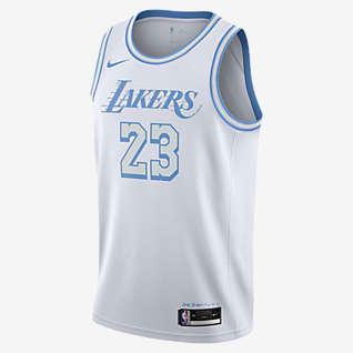 Los Angeles Lakers City Edition Nike NBA Swingman Trikot