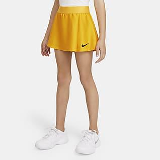 NikeCourt Victory Tennisskjørt til store barn (jente)