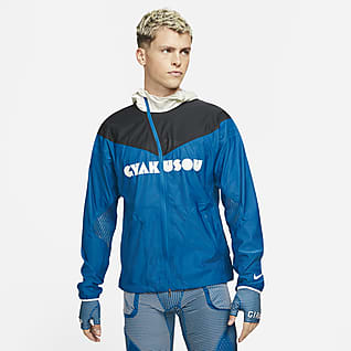 Nike x Gyakusou Herenjack met 3 lagen