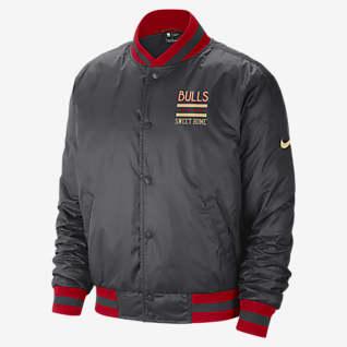 Chicago Bulls City Edition Courtside Мужская куртка Nike НБА