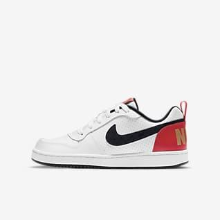 Nike Court Borough Low Big Kids' Shoe