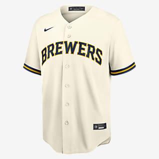 MLB Milwaukee Brewers Men's Replica Baseball Jersey