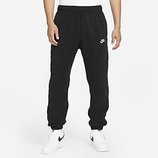 Nike Sportswear Sport Essentials+ Calças de lã cardada para homem