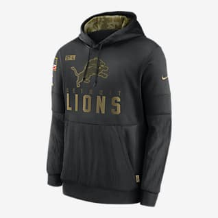 Nike Therma Salute to Service (NFL Lions) Men's Hoodie