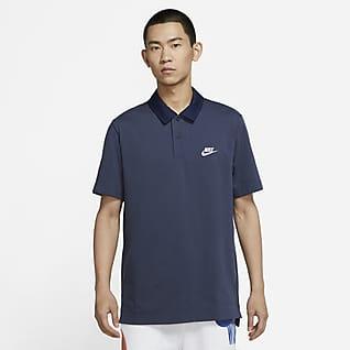 Nike Sportswear 男子橄榄球翻领T恤