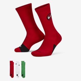 Nike Everyday Crew ถุงเท้าบาสเก็ตบอล (3 คู่)