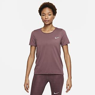 Nike Dri-FIT Run Division 女款短袖跑步上衣