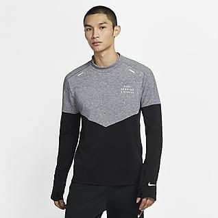 Nike Sphere Run Division Ανδρική μάλλινη μπλούζα για τρέξιμο