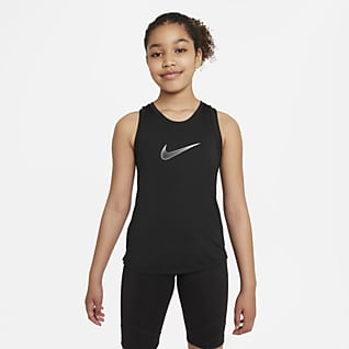 Nike Dri-FIT One Φανελάκι προπόνησης για μεγάλα κορίτσια