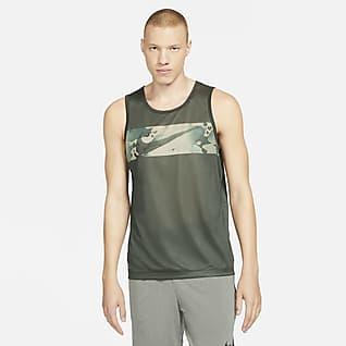 Nike Legend Men's Camo Swoosh Training Tank