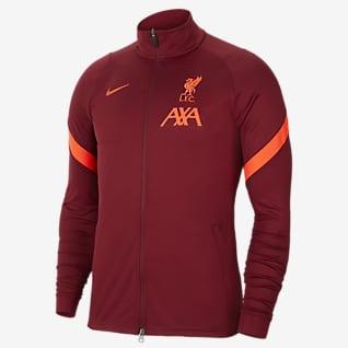 Liverpool FC Strike Męska dresowa bluza piłkarska z dzianiny