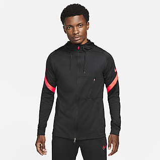 Nike Dri-FIT Strike Men's Full-Zip Hooded Soccer Jacket