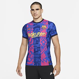 FC Barcelona alternativa 2021/2022 Match Jersey de fútbol Nike Dri-FIT ADV - Hombre