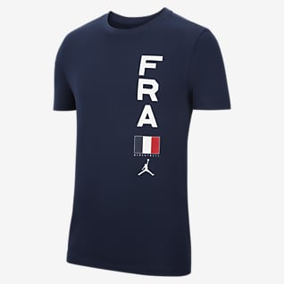 France Jordan Dri-FIT Team Men's Basketball T-Shirt