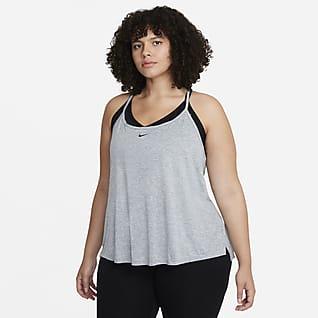 Nike Dri-FIT One Elastika Women's Standard Fit Tank (Plus Size)