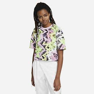 Jordan Heatwave Dörtgen Kadın Tişörtü