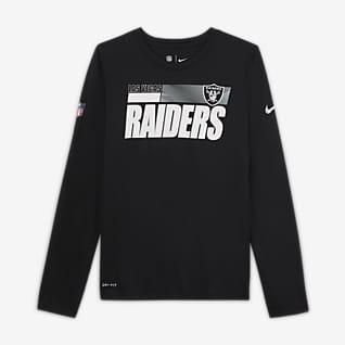 Nike Legend Sideline (NFL Las Vegas Raiders) T-shirt Júnior (Rapaz)