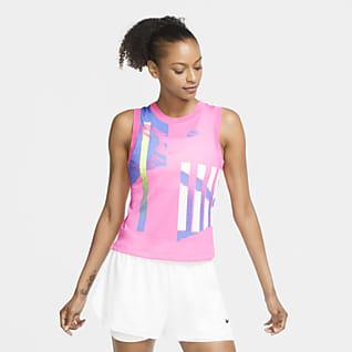 NikeCourt Slam Женская теннисная майка