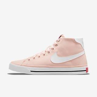 Nike Court Legacy Canvas Mid Женская обувь