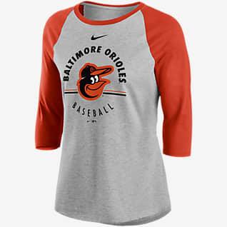 Nike Encircled (MLB Baltimore Orioles) Women's 3/4-Sleeve T-Shirt