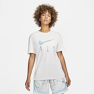 Nike Dri-FIT Swoosh Playera de básquetbol para mujer