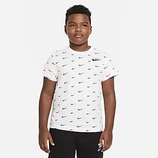 Nike Sportswear Older Kids' (Boys') Printed T-Shirt (Extended Size)