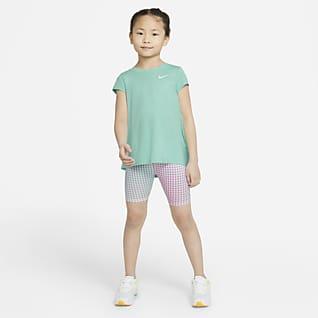 Nike Conjunto de prenda para la parte superior y shorts para niños talla pequeña