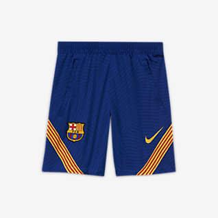 F.C. Barcelona Strike Older Kids' Football Shorts