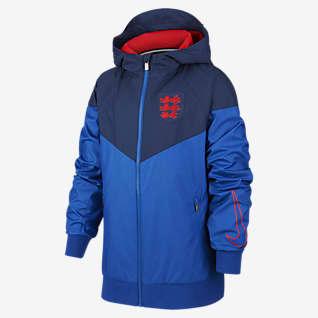 England Windrunner Big Kids' Woven Jacket