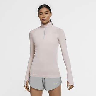 Nike Run Division Women's 1/2-Zip Wool Running Top