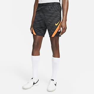 Nike Dri-FIT Strike Męskie dzianinowe spodenki piłkarskie