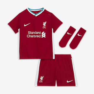 Liverpool FC 2020/21 Home Baby/Toddler Soccer Kit