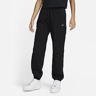 NikeLab Damskie spodnie z dzianiny