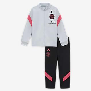 Paris Saint-Germain Strike Трикотажный футбольный костюм для малышей