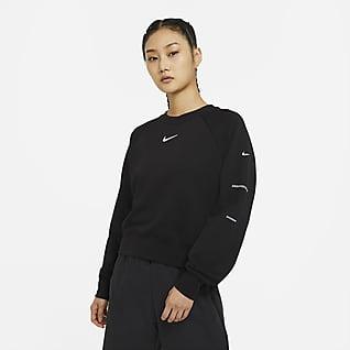 Nike Sportswear Swoosh French Terry 女子圆领上衣