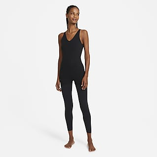 Nike Yoga Luxe Women's Layered 7/8 Jumpsuit