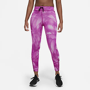 Nike Epic Faster Run Division Legging de running 7/8 taille mi-haute pour Femme