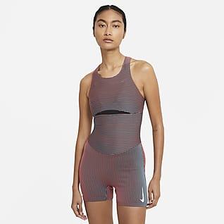 Nike Γυναικείο ολόσωμο εφαρμοστό κορμάκι