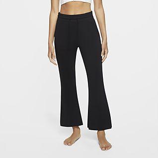 Nike Yoga Женские слегка укороченные брюки