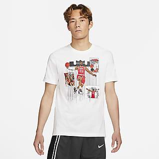 LeBron Logo เสื้อยืดบาสเก็ตบอลผู้ชาย