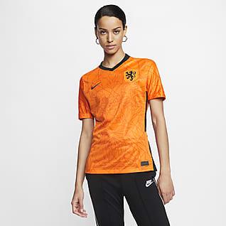 Netherlands 2020 Stadium de local Camiseta de fútbol para mujer
