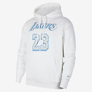 Los Angeles Lakers City Edition Men's Nike NBA Pullover Hoodie