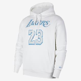 Los Angeles Lakers City Edition Męska bluza z kapturem NBA Nike