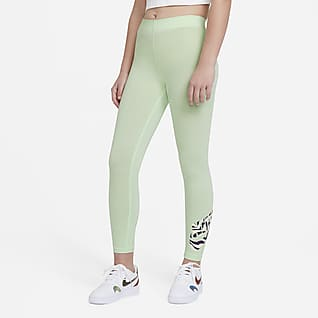 Nike Sportswear Favorites Big Kids' (Girls') Graphic Leggings